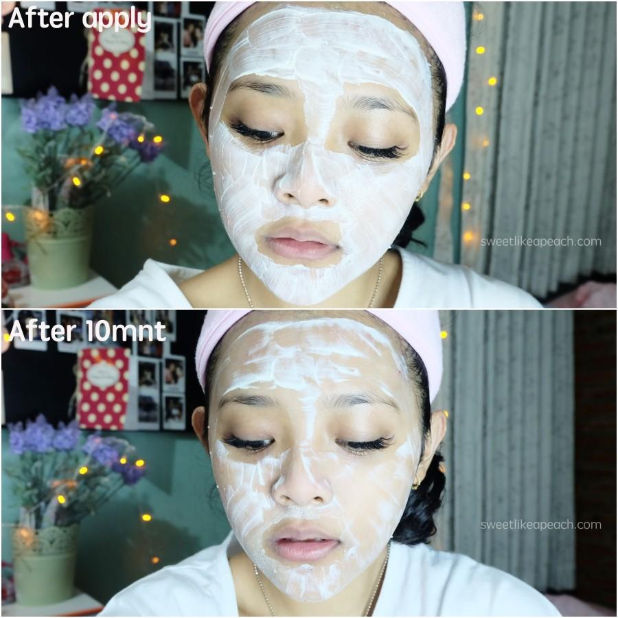 Penggunaan Masker Kefir Organik Asli